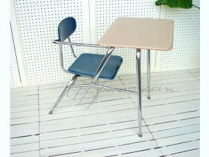 画像1: Student Desk&Chair