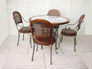 画像1: Cafe Table Set