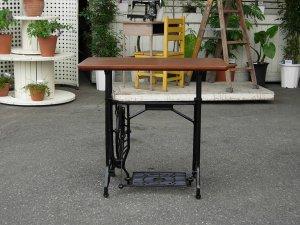 画像1: Sewing Machin Table